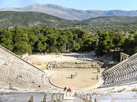 travelyesplease.com | Photo of the Week: Theatre at Epidaurus, Greece