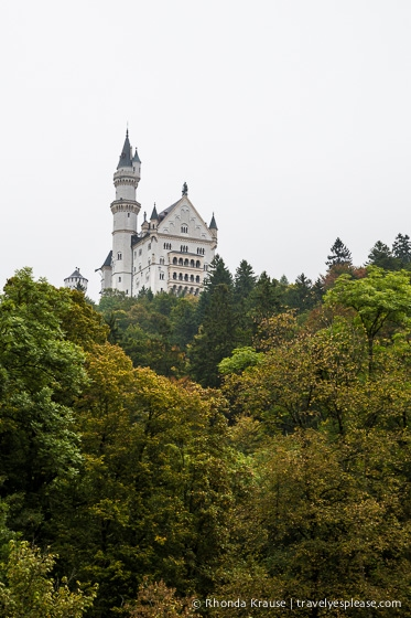 travelyesplease.com | Bavaria's Fairytale Castles: Part One- Hohenschwangau Castle