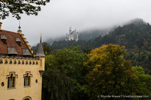 travelyesplease.com | Hohenschwangau Castle- Childhood Home of King Ludwig II of Bavaria