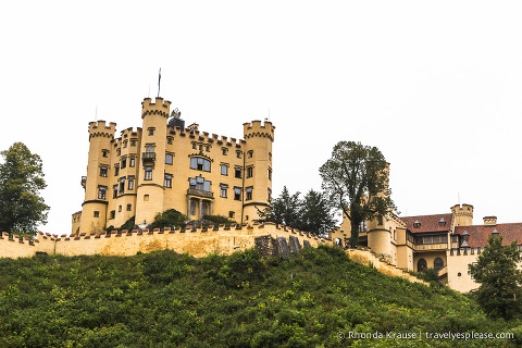 travelyesplease.com   Hohenschwangau Castle- Childhood Home of King Ludwig II of Bavaria