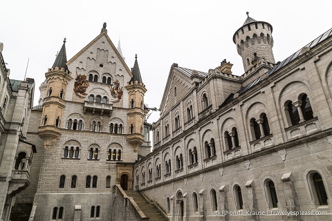 "travelyesplease.com | Neuschwanstein Castle- The Theatrical Creation of ""Mad"" King Ludwig"