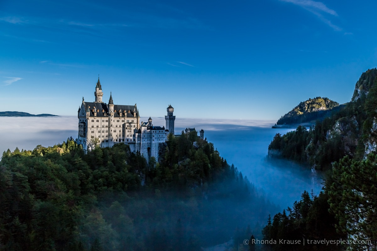 Travel Photography by Rhonda Krause |Neuschwanstein Castle. Germany