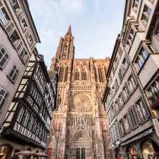 Travel Photography by Rhonda Krause |Strasbourg Cathedral, France
