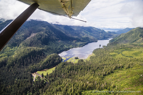 travelyesplease.com | Flightseeing in Ketchikan, Alaska- Misty Fjords National Monument