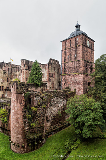 travelyesplease.com | The Romantic Ruins of Heidelberg Castle