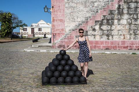 travelyesplease.com   Visiting Fortaleza de San Carlos de la Cabaña, Havana