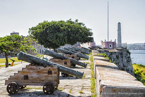 travelyesplease.com   Fortaleza de San Carlos de la Cabaña- History, Photos and Tips for Visiting Havana's Mighty Fortress