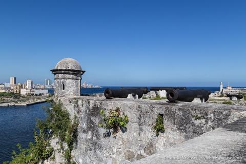 travelyesplease.com | Fortaleza de San Carlos de la Cabaña- Havana's Mighty Fortress