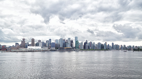 travelyesplease.com | Photo of the Week: Downtown Vancouver and Burrard Inlet