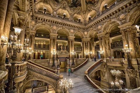 travelyesplease.com | Palais Garnier- One of Paris' Most Elegant Buildings
