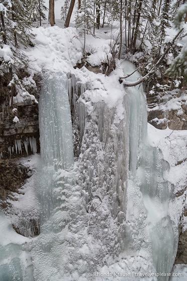 travelyesplease.com | The Maligne Canyon Ice Walk- Alberta's Coolest Hike