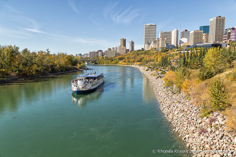 travelyesplease.com   Photo of the Week: Edmonton River Valley in Autumn