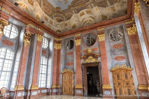 Melk Abbey interior- The Marble Hall