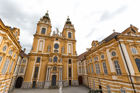 Coloman Courtyard at Melk Abbey, Austria