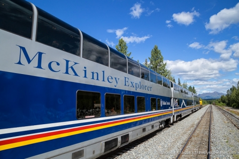 All Aboard The McKinley Explorer! - A Ride on the Scenic Alaska Railroad