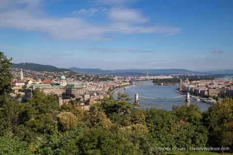 travelyesplease.com | Gellért Hill and the Citadella, Budapest
