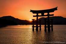 travelyesplease.com | Photo of the Week: Sunset at Miyajima