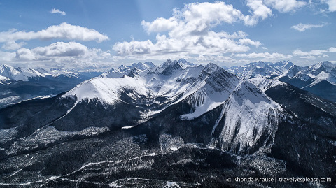 travelyesplease.com | Canmore Helicopter Tour- Sightseeing in Alberta's Rocky Mountains