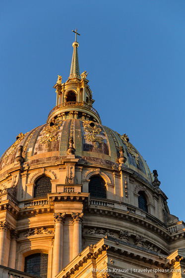 travelyesplease.com | Photo of the Week: Dôme des Invalides