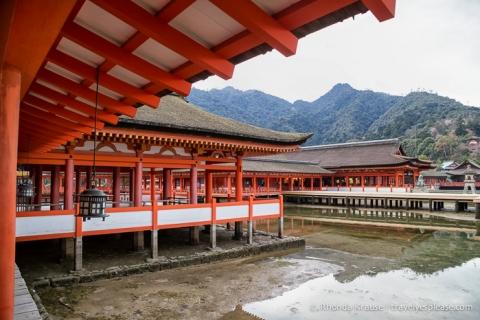 travelyesplease.com | Itsukushima Shrine- Miyajima Island, Japan