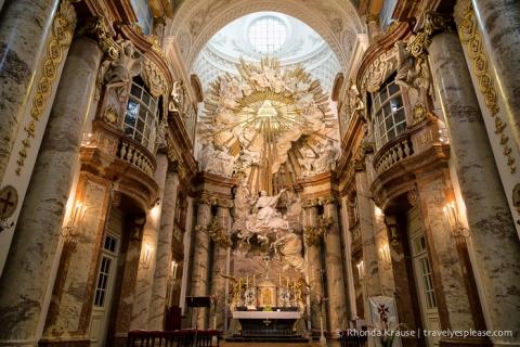 travelyesplease.com | Photo of the Week: Karlskirche (St. Charles Church), Vienna