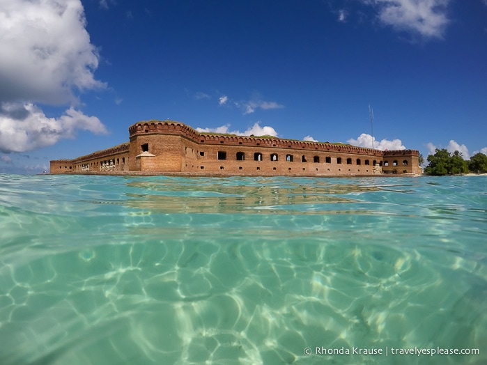 Dry tortugas national park and fort jefferson for Garden key dry tortugas national park