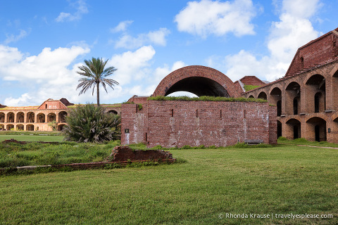 Tour of Fort Jefferson.