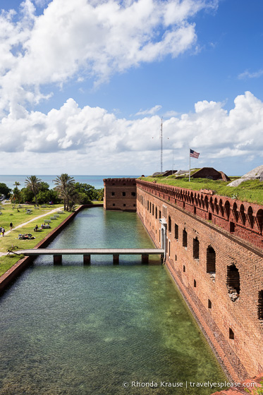 Visiting Dry Tortugas National Park and Fort Jefferson.