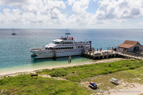 Visiting Dry Tortugas National Park and Fort Jefferson- The Dry Tortugas Ferry.
