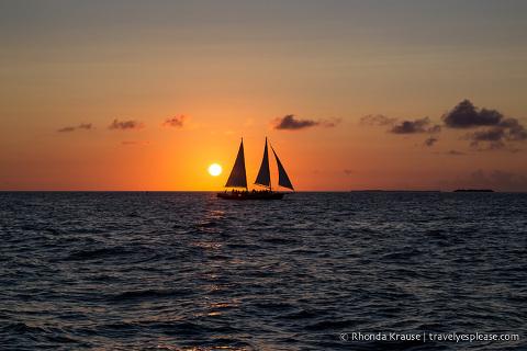 travelyesplease.com | Key West Sunset Sail- The Appledore V Schooner