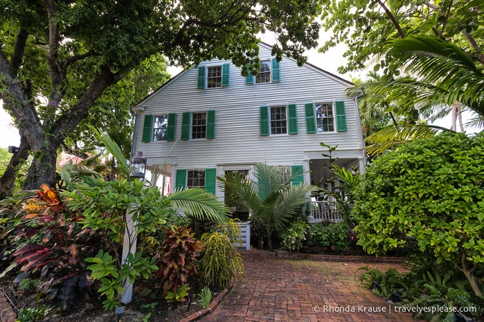 Travelyesplease.com | Audubon House And Tropical Gardens  An Oasis In The  Heart Of