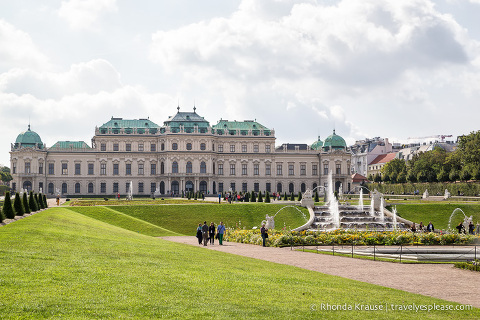 travelyesplease.com | Photo of the Week: Upper Belvedere Palace, Vienna