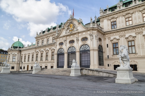 Itravelyesplease.com | Photo of the Week: Upper Belvedere Palace, Vienna