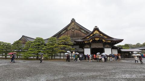 Exterior of Nijo Castle
