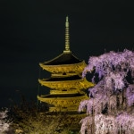 Kyoto's To-ji Temple- By Day and By Night