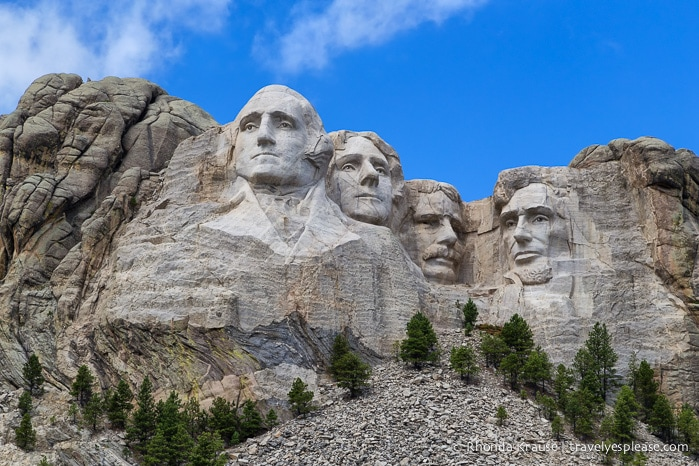 Mount rushmore national memorial history facts and tips for Mount rushmore history facts