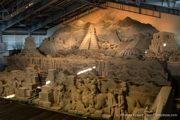 travelyesplease.com | The Tottori Sand Museum- Around the World in Sand