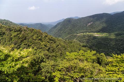 travelyesplease.com | Climbing Mount Mitoku- The Trek to Nageiredo Hall