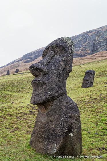Rano raraku carving site of easter island s moai travel