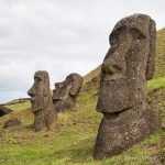 Rano Raraku- Carving Site of Easter Island's Moai
