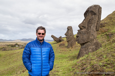travelyesplease.com | Rano Raraku- Carving Site of Easter Island's Moai Statues