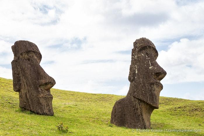 travelyesplease.com | Rano Raraku- Carving Site of Easter Island