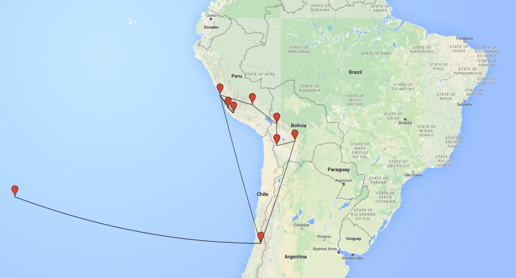 travelyesplease.com | 3 Weeks in South America- Our Itinerary