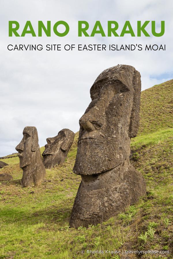 Rano Raraku- Carving Site of Easter Island\'s Moai