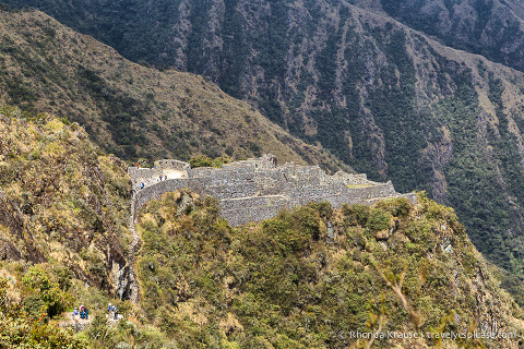 Ruins on the Inca Trail