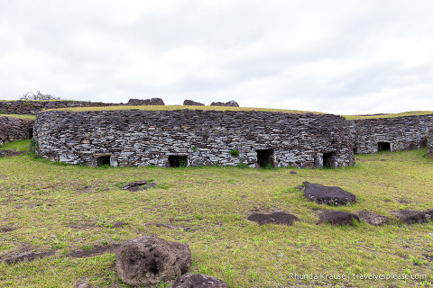 travelyesplease.com | Orongo- Ceremonial Village of the Birdman Cult
