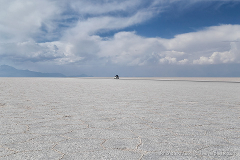 travelyesplease.com | Visiting the Salt Flats in Bolivia- Our 1-Day Tour of Salar de Uyuni