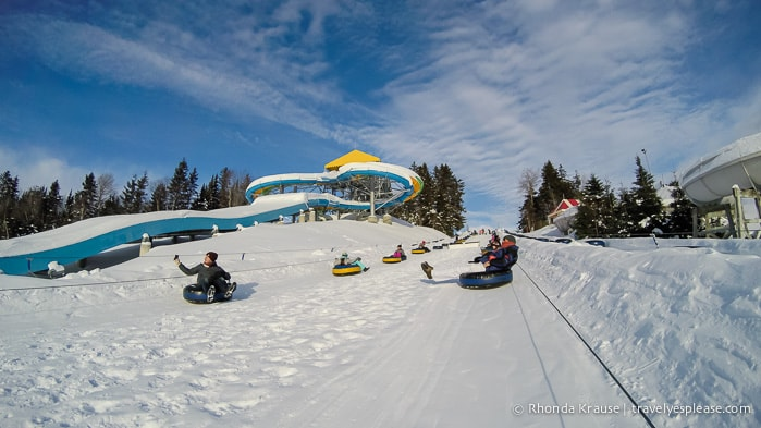 travelyesplease.com | Winter Fun at Village Vacances Valcartier, Quebec
