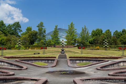 travelyesplease.com | Visiting Tottori Hanakairo Flower Park- One of Japan's Largest Flower Parks