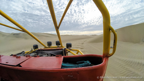 travelyesplease.com | Sandboarding and Dune Buggy Tour in Huacachina, Peru
